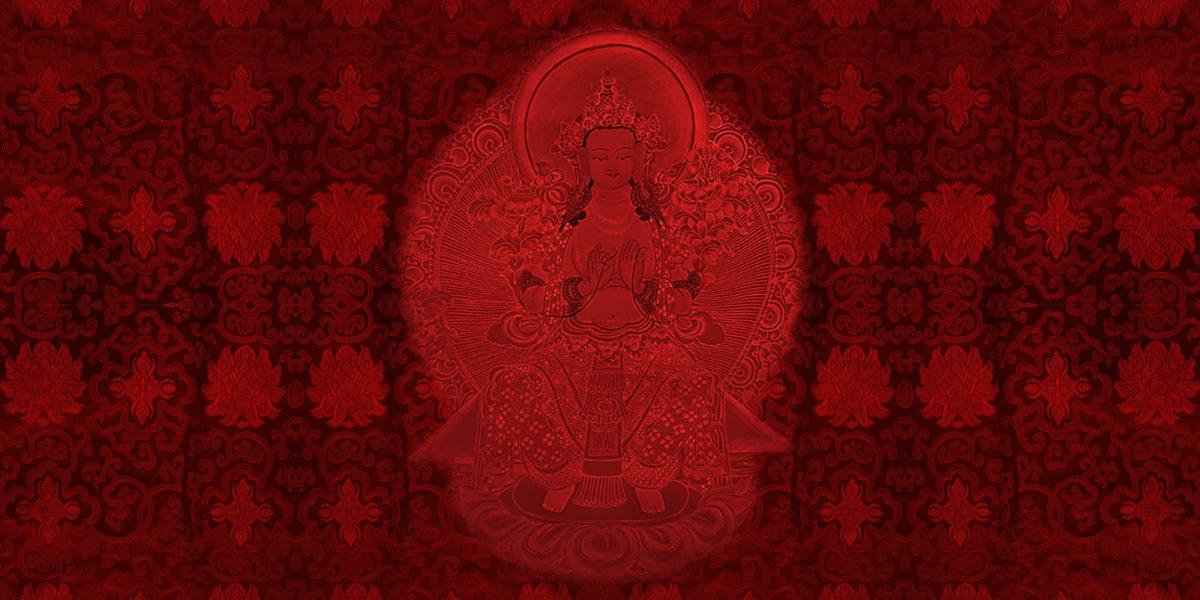 Maitreya-Thankga - Erleuchtungsweg
